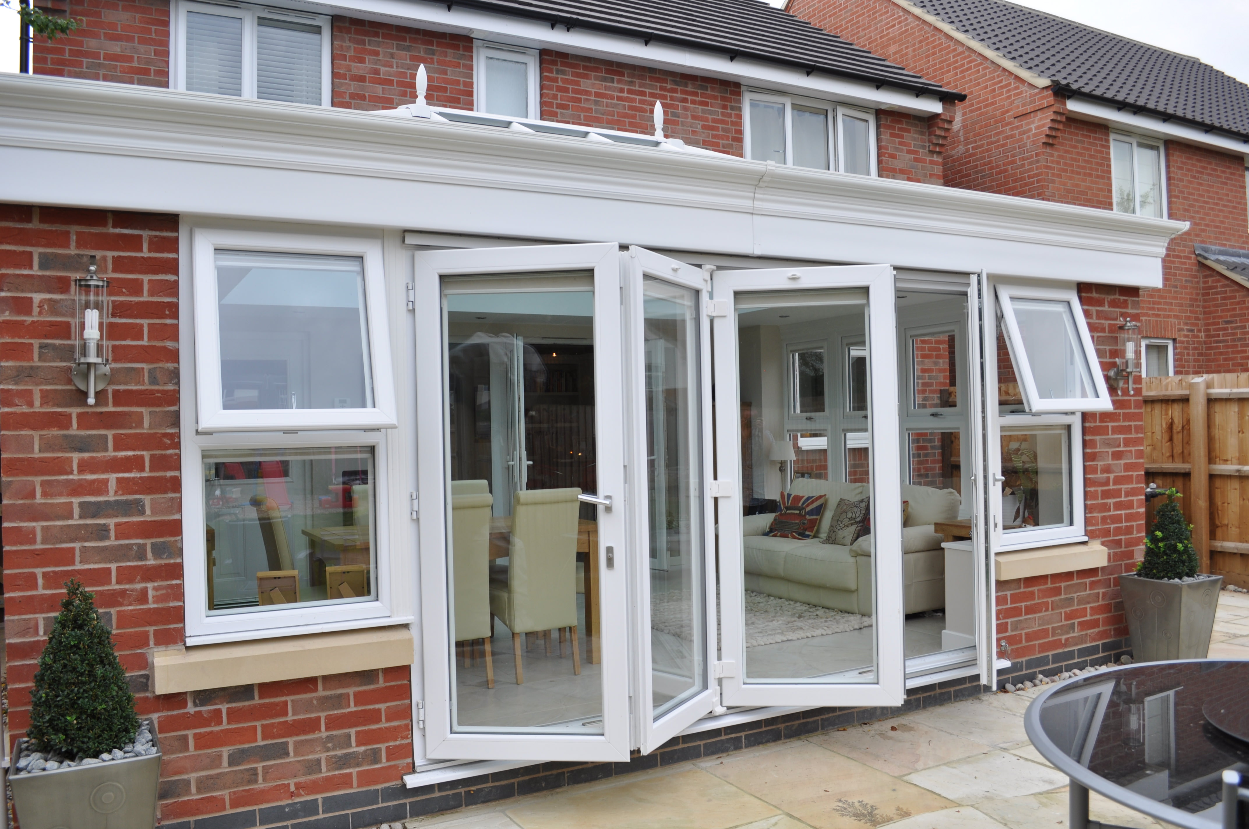 Bi fold doors double glazing leeds select products for Upvc french doors leeds