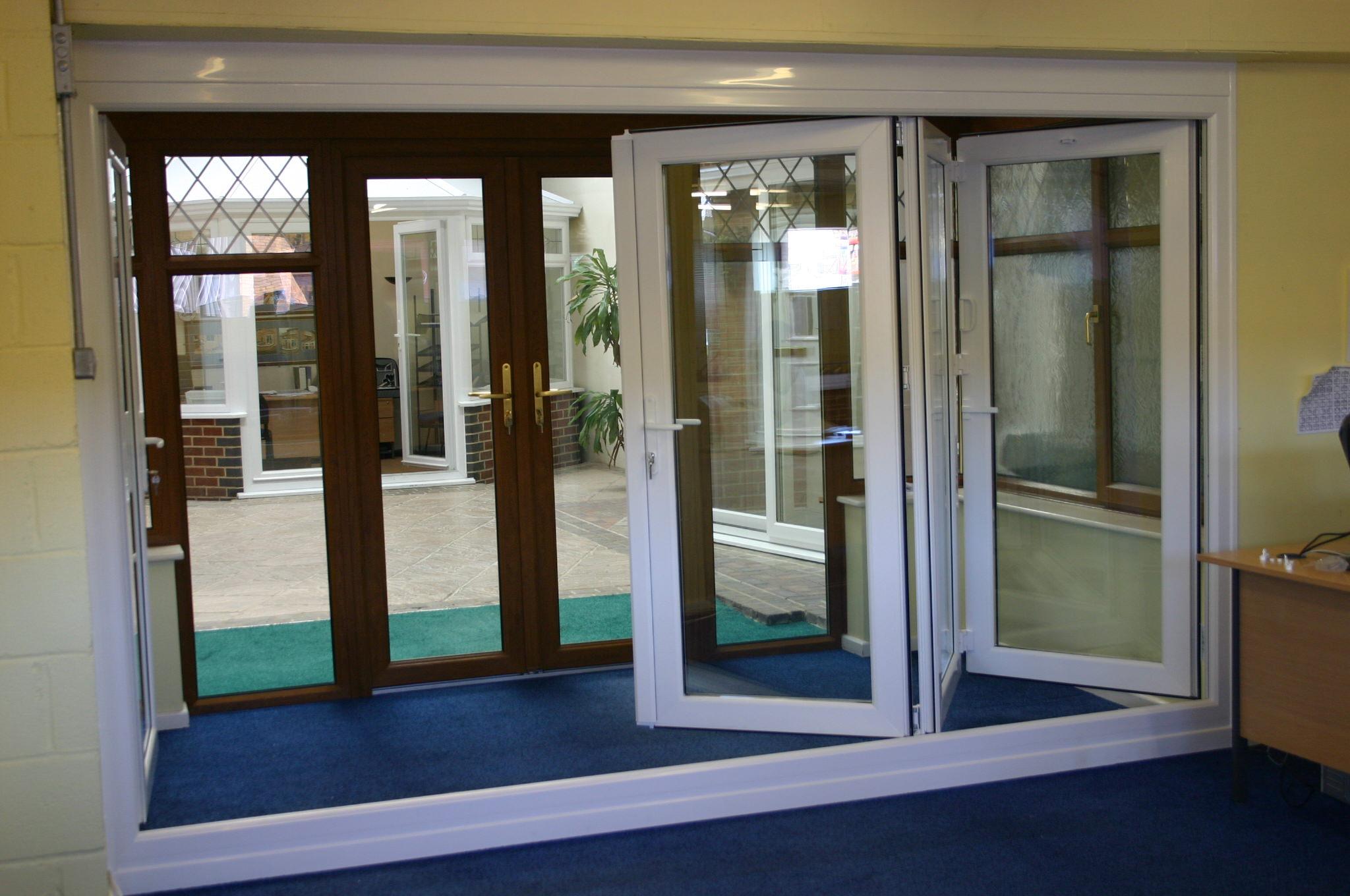 Images of double glazed folding doors woonv handle idea bi fold sliding doors baildon select products rubansaba