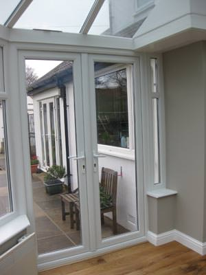 UPVC French Doors conservatory