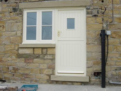 Wooden stable Door
