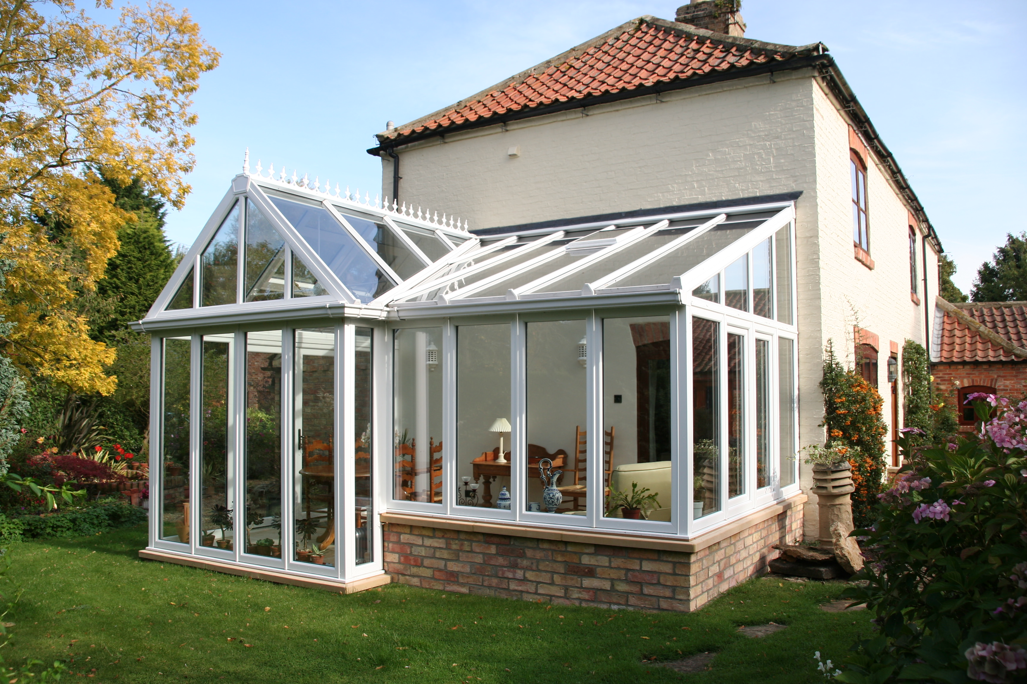 Conservatories conservatory benefits conservatories leeds for Double glazing uk