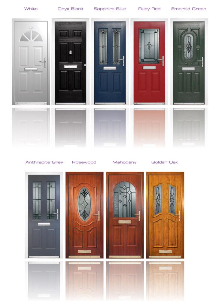 Rockdoor Composite Door Colours