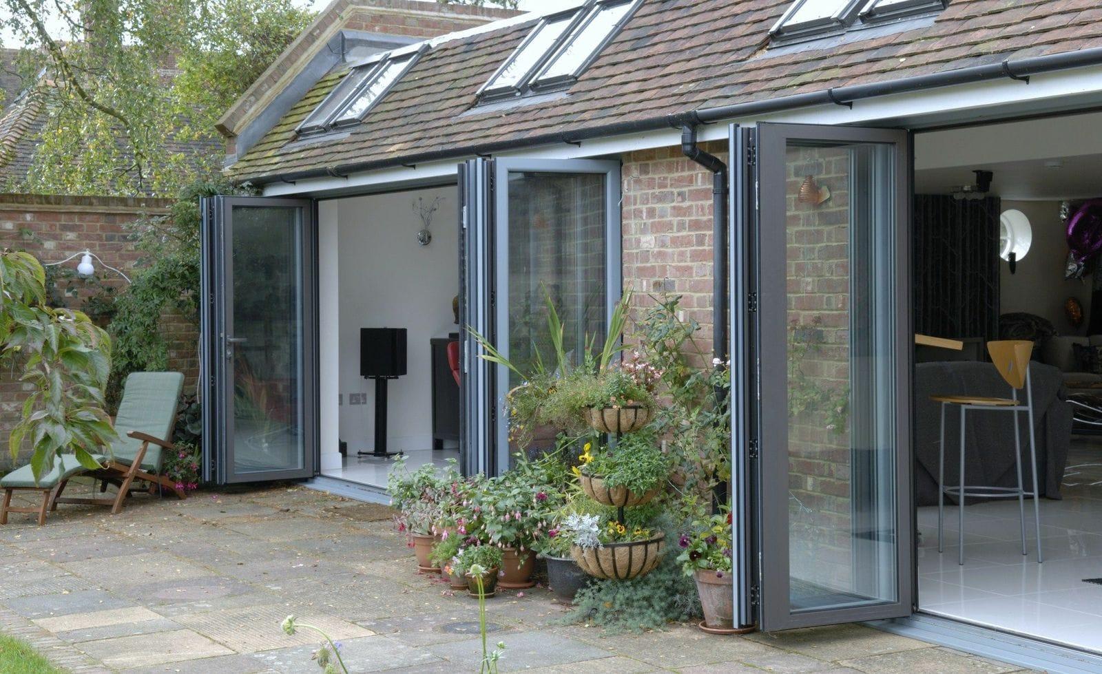 Smarts Aluminium Bi-Fold Doors