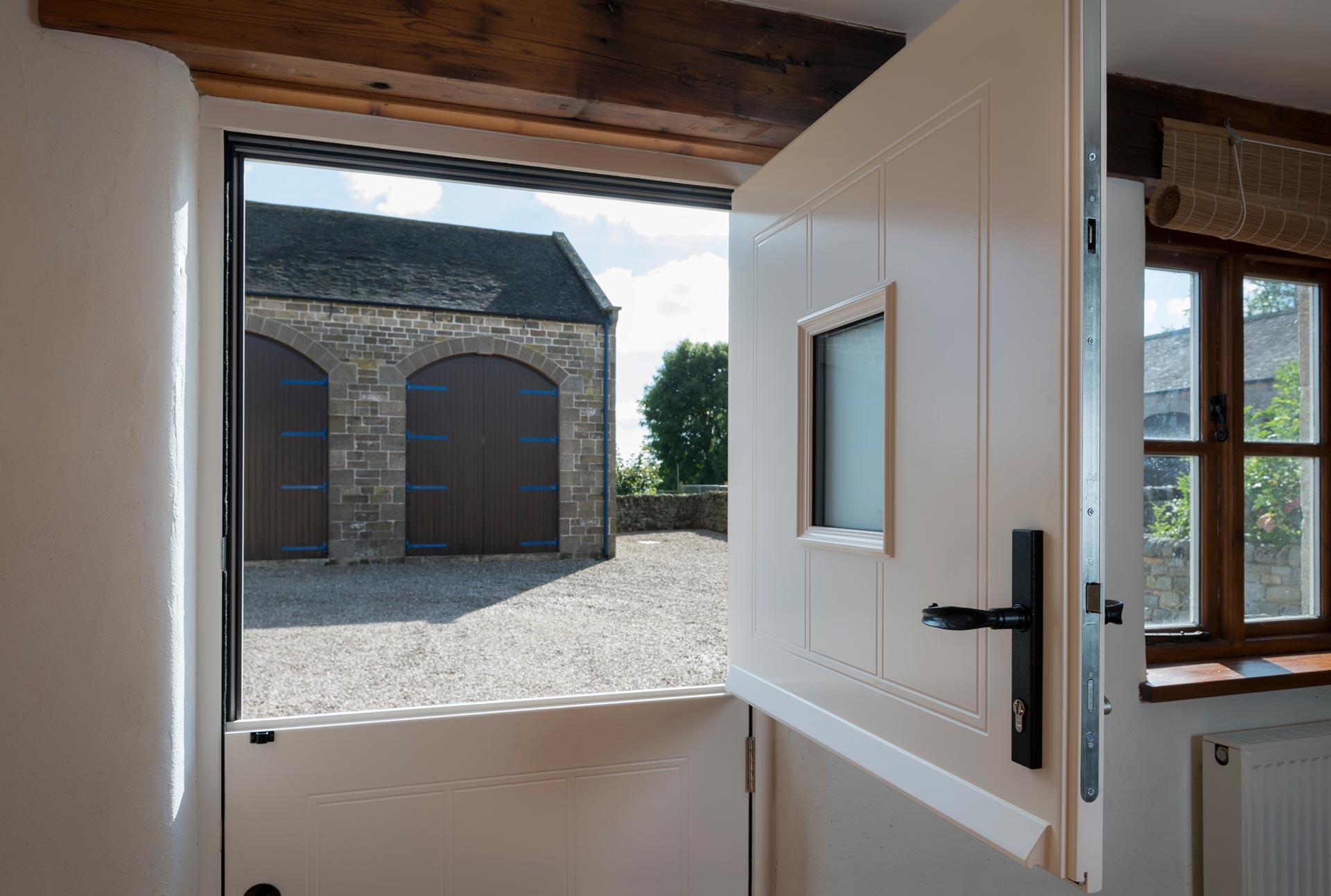 Wooden Stable Door Double Glazing Leeds