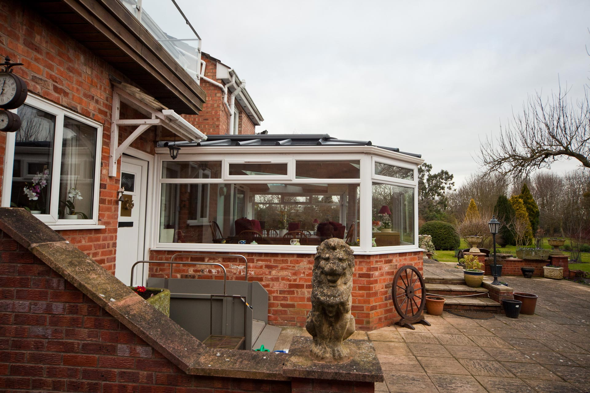 p shaped conservatory cost