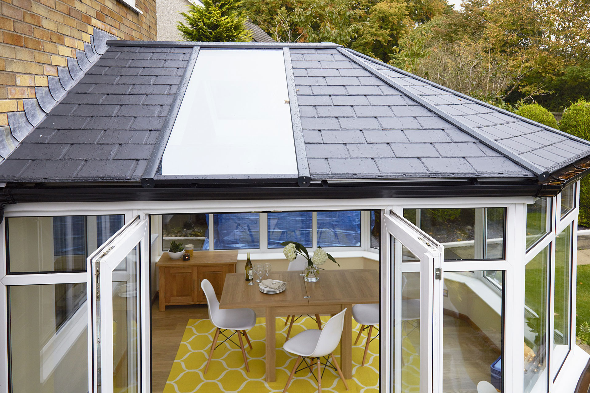 Ultraframe Conservatory Tiled Roof