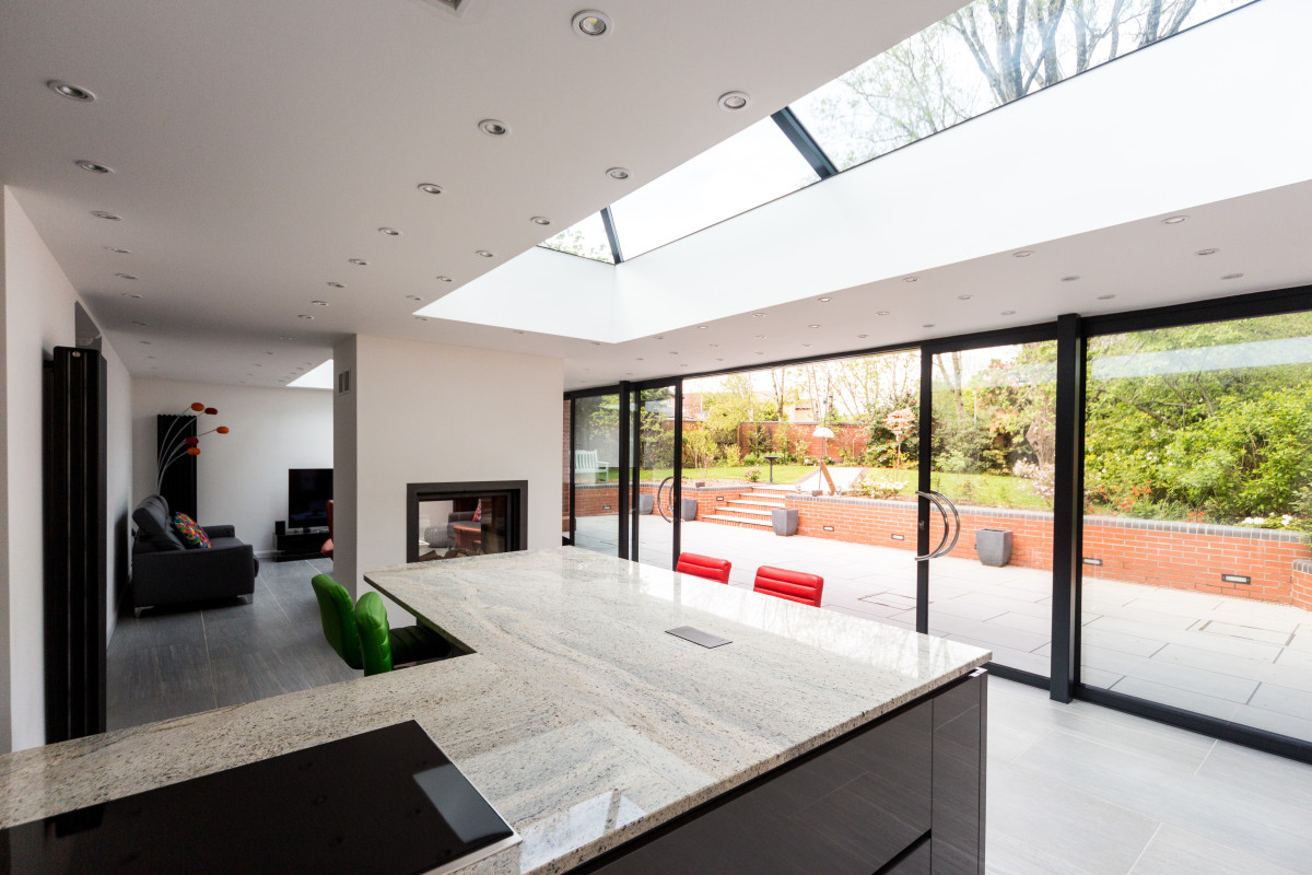 Ultraframe house extension