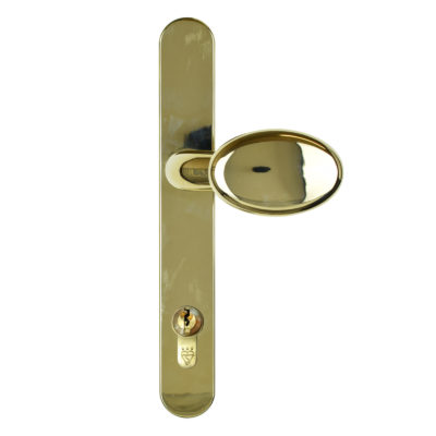 handle pad lever gold