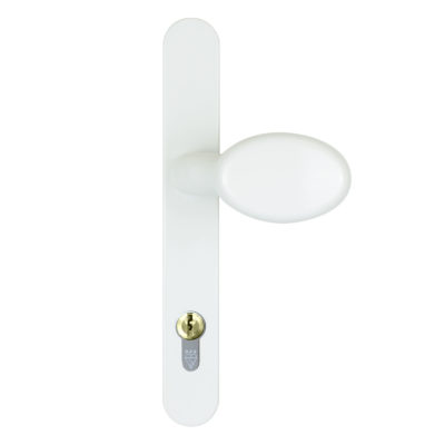 lever pad white handle