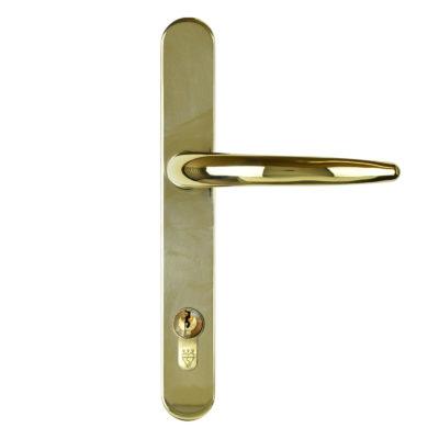 front door handle gold